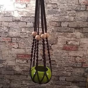 Vintage Hanging Pot Planter